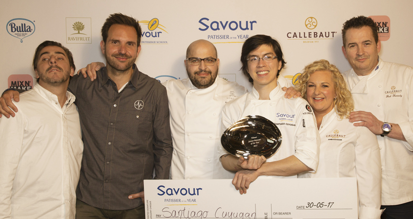 The Winners of Savour Patissier of the Year 2017