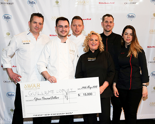 Guillaume Lopvet wins Savour Patissier of the Year 2018